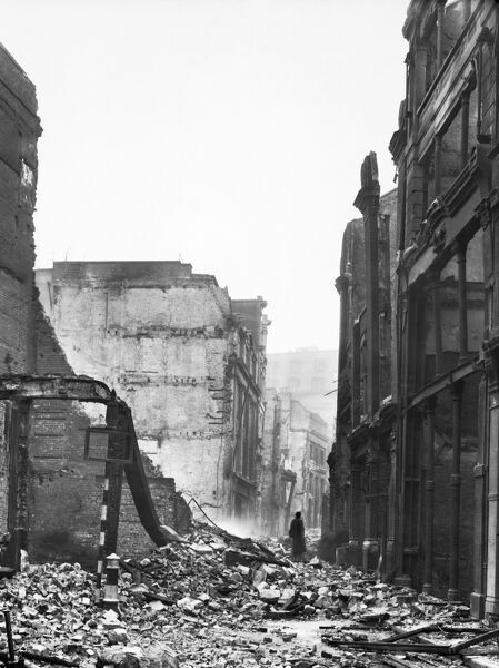 bomb damage london 1941 bl5947