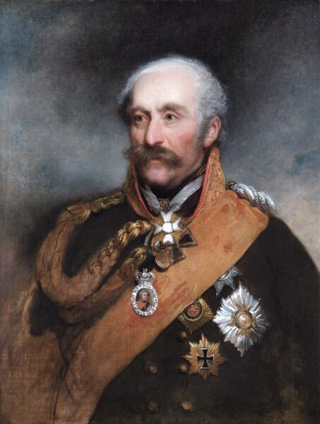 "APSLEY HOUSE ""Field-Marshal Prince Von Blucher&quot"