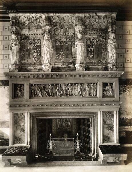 eaton hall fireplace 1887 bl08270