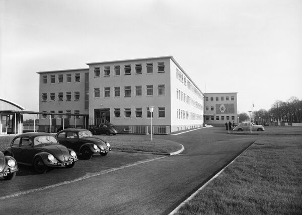 British Embassy Offices, Bonn, West Germany. Photographed in 1953