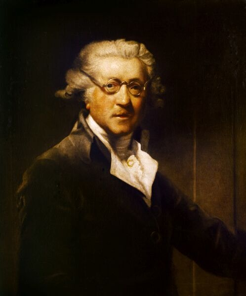 "KENWOOD HOUSE, THE IVEAGH BEQUEST, London. ""Self Portrait"" 1788 by Sir Joshua REYNOLDS (1723-92)"