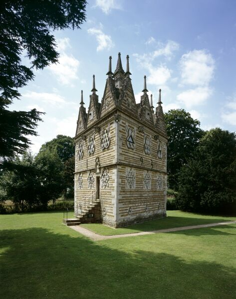 RUSHTON TRIANGULAR LODGE, Northamptonshire. View from the North East