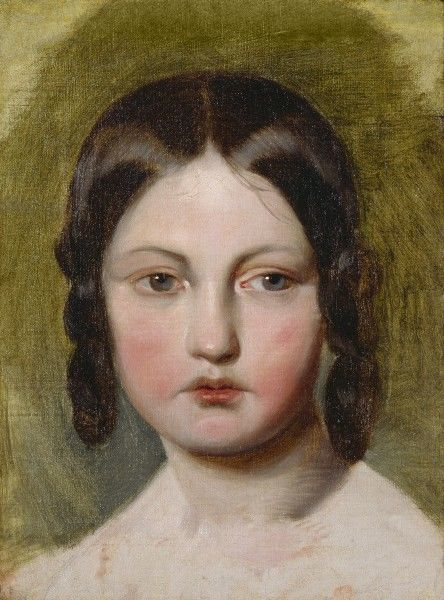 von amerling portrait of a young girl k080004