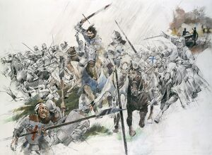 Battle of Flodden Field J970040