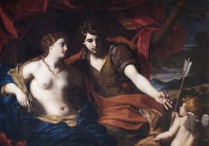 Cignani - Venus and Adonis N070571