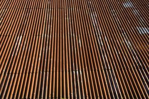Corrugated iron roof DP032153