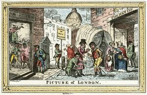 Cruikshank - Picture of London N110040