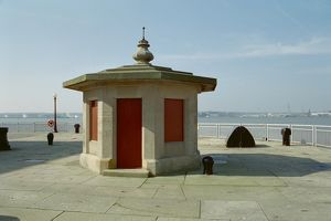 Gatekeeper's Hut, Brunswick Dock, Liverpool.