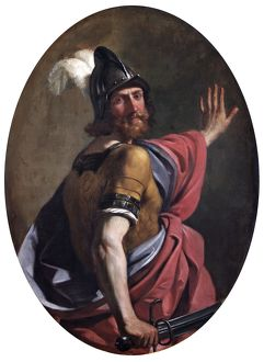 Guercino - Mars as a Warrior N070484