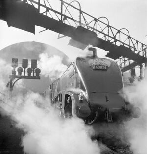 Kingfisher steam train, Flying Scotsman service AA062841