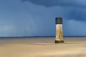 Low lighthouse at Spurn Point DP139808