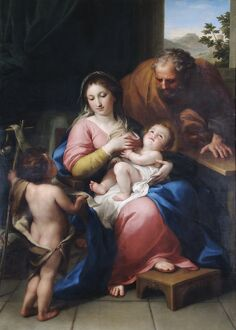 Mengs - The Holy Family with the infant St John N070660