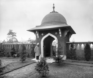 Muslim Burial Ground, Horsell Common, Woking 1917 BL23738_006