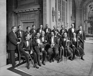 Orchestra of the Midland Adelphi Hotel 1914 BL22620