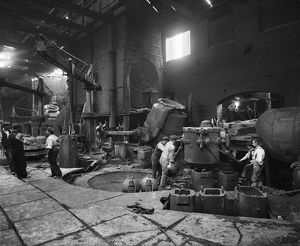 Steel production, Barnsley BL22301_002