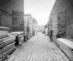 Timber Yard, Lambeth 1916 BL23561_029