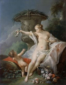 Venus and Cupid K040872