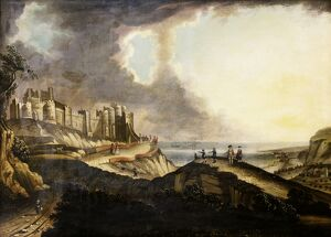 View of Dover Castle M981328