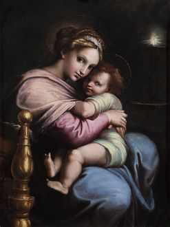 Virgin and Child N070575