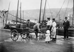 Water carrier, Newlyn Harbour AA97_05334