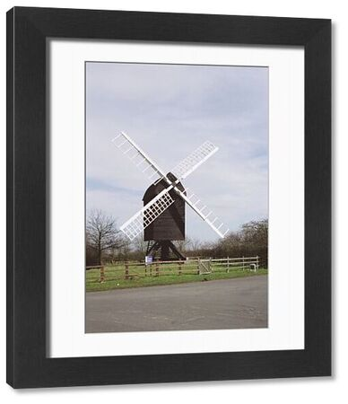 Windmill. Post Mill of c.1612, believed to be the oldest in England. IoE 395788