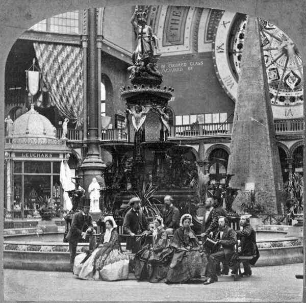 1862 EXHIBITION, Kensington, London. The 1862 Exhibition was the successor to the Great Exhibition of 1851