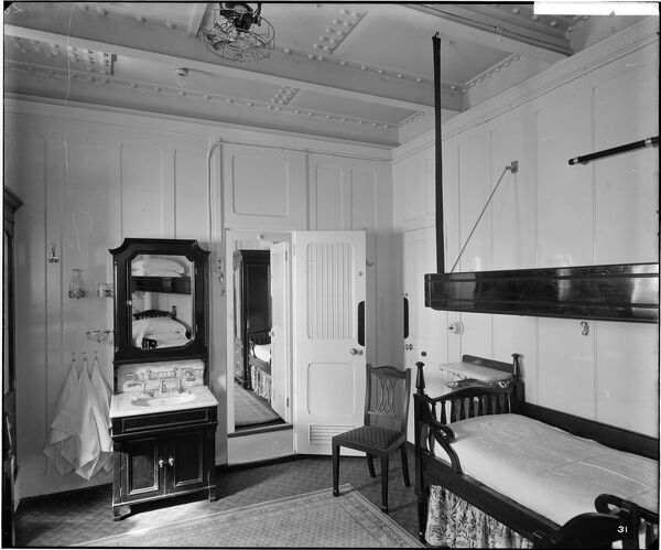3-berth cabin, RMS Olympic BL24990_031