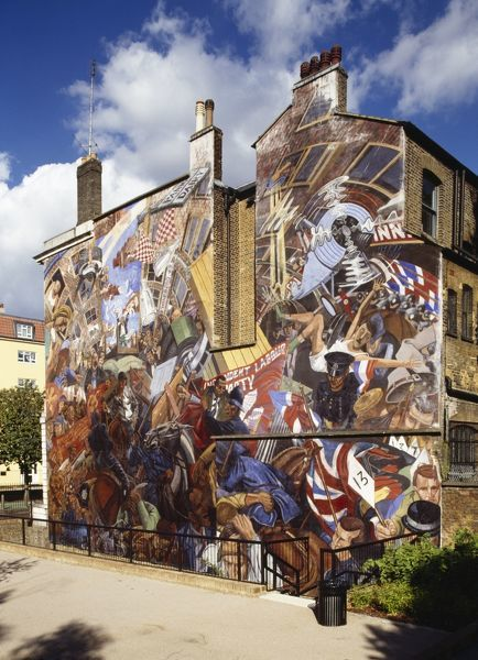 Battle of Cable Street mural K031532