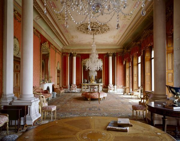BRODSWORTH HALL, South Yorkshire. Interior view of the Drawing Room
