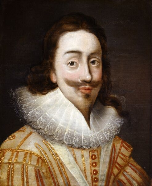 "AUDLEY END HOUSE, Saffron Walden, Essex. ""Portrait of King Charles I"" by unknown artist"