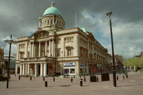 Built 1903-09, restored c1950 following war damage, Kingston Upon Hull, East Yorkshire. IoE 387753