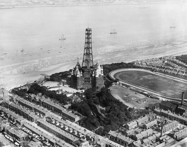Dismantling New Brighton Tower EPW004047