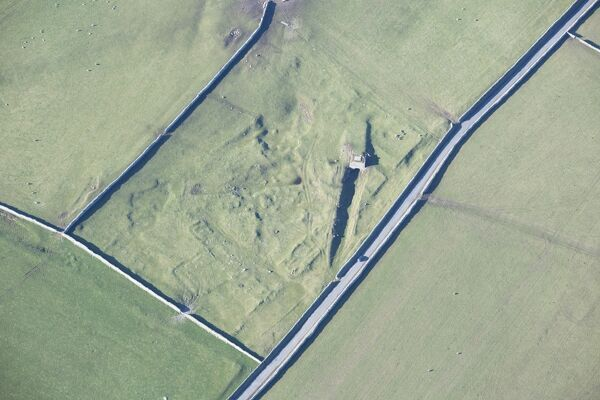 Medieval grange and post medieval lime kiln in Shap, Cumbria