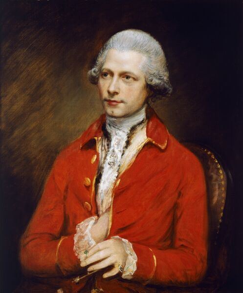 "KENWOOD HOUSE, THE IVEAGH BEQUEST, London. "" John Joseph Merlin "" 1781 by GAINSBOROUGH Thomas (1727-88)"