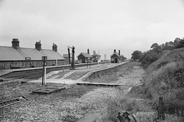 Garsdale Railway Station, Garsdale, Cumbria. View from the north-east. Photographed by Gordon Barnes in 1966