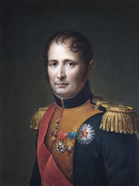 "APSLEY HOUSE, London. ""Joseph Bonaparte, King of Spain"" by Baron Francois-Pascal-Simon GERARD (1770-1837). WM 1630-1948. Painting captured by Wellington at Vitoria, 1813"