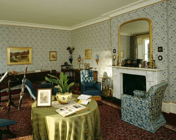 DOWN HOUSE, Kent. Interior view of the Drawing Room