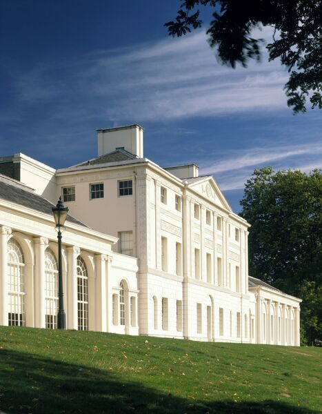 KENWOOD HOUSE, London. The south front exterior
