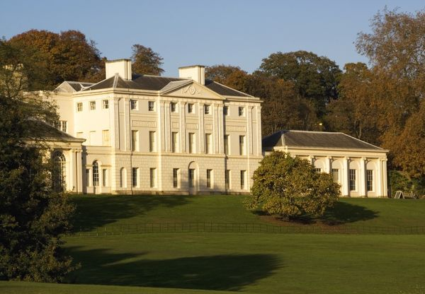 KENWOOD HOUSE, London. Exterior view of south front elevation