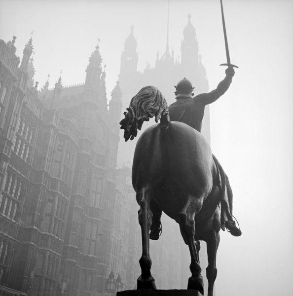 King Richard I Statue, Old Palace Yard, Westminster, Greater London