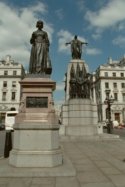 Memorial Statue. Statue of Florence Nightingale. IoE 207509