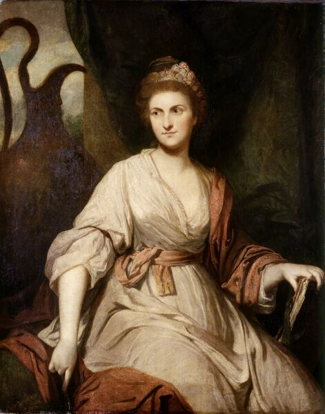 "KENWOOD HOUSE, THE IVEAGH BEQUEST, London. ""Lady Diane Beauclerk"" 1764-65, by Sir Joshua Reynolds (1723-92)"