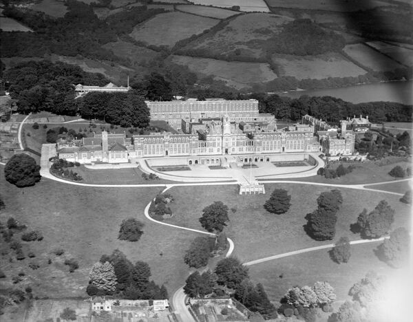 ROYAL NAVAL COLLEGE, Dartmouth, Devon, photographed in 1928