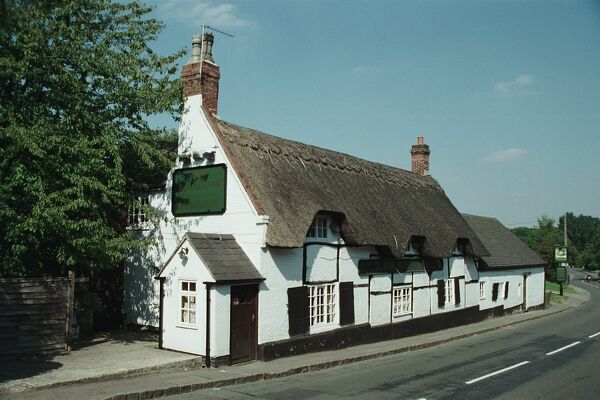 The Royal Oak. Mid C18 timber-framed public house. Great Dalby, Leicestershire. IoE 189791