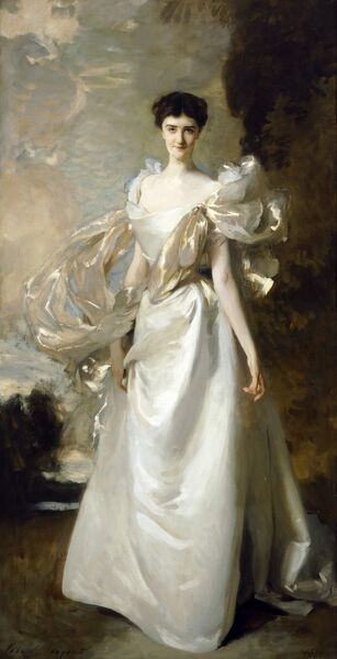 "KENWOOD HOUSE, London. "" Margaret Hyde, 19th Countess of Suffolk "" ('Daisy', nee Leiter), 1898 by John Singer SARGENT (1856-1925)"