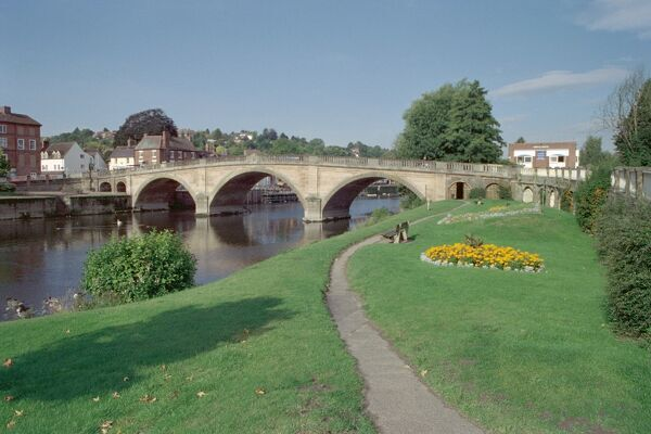 Grade I listed bridge by Thomas Telford. Worcestershire. IoE 156638
