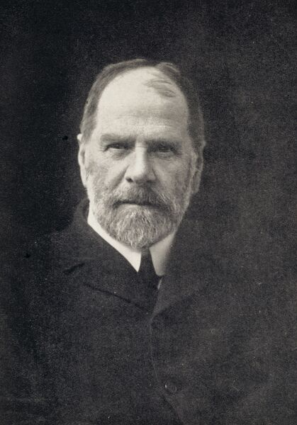 DOWN HOUSE, Kent. Photograph of Sir Horace Darwin (1851-1928). Charles Darwin's son
