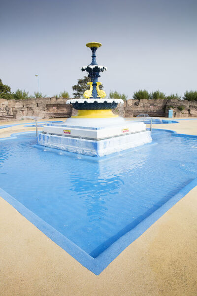 Fairy Dell Paddling Pool, Tower Esplanade, Skegness, Lincolnshire