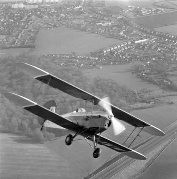 """Stampe"" aircraft in flight. Aerofilms Collection (see Links)"