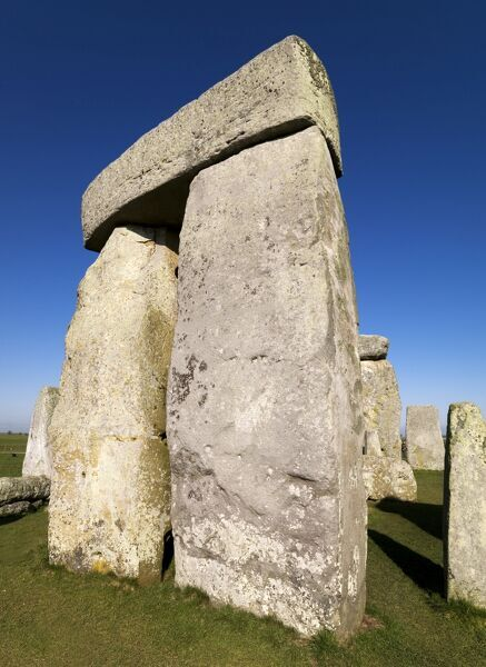 STONEHENGE, Wiltshire. General view of trilithon
